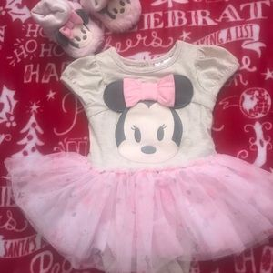 Disney little dress and shoes